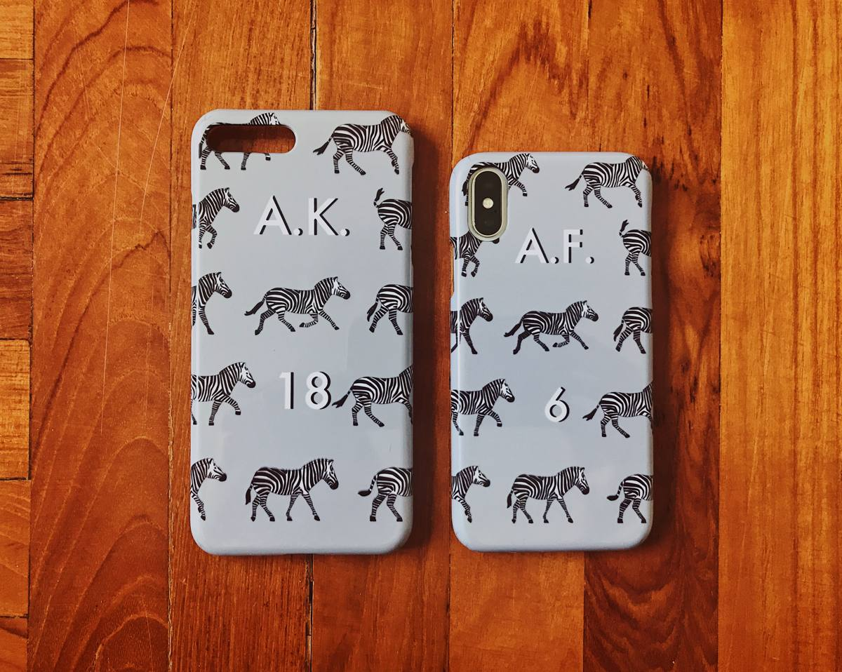 Zebra iPhone Case 2