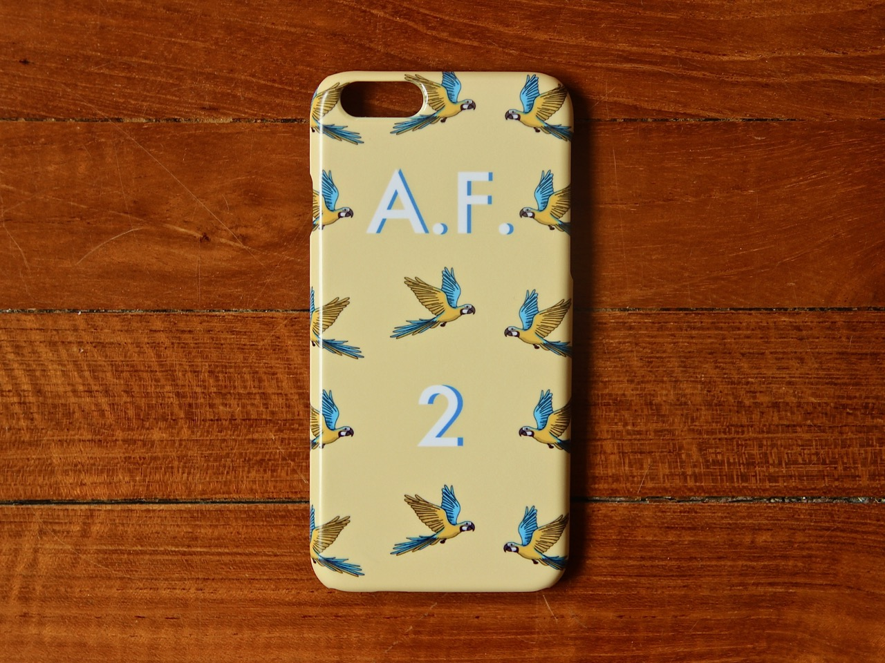 Yellow Macaw iPhone Case 2