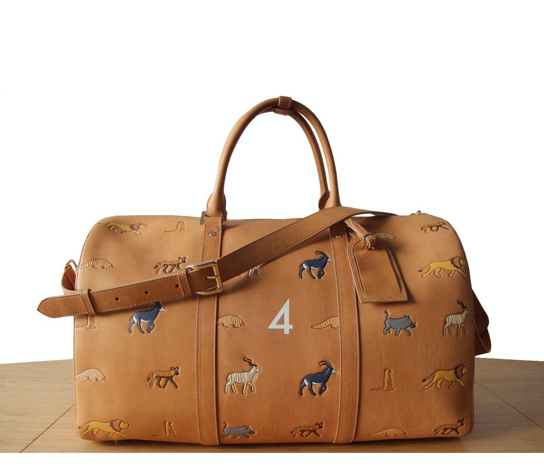 VERYTROUBLEDCHILD Savanna Bag n. 4 White Background